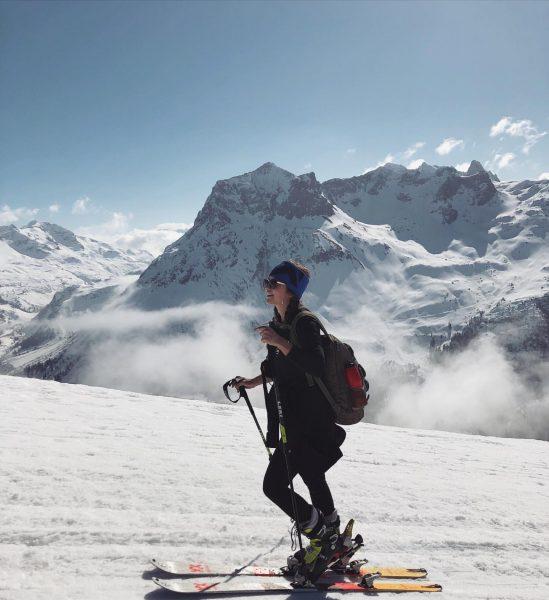 @lechzuers my favorite place in winter ❄️ #skitouring #kriegerhorn #winter #vorarlberg #love #lifeisgood #winterwonderland #lech #alps #mountains...