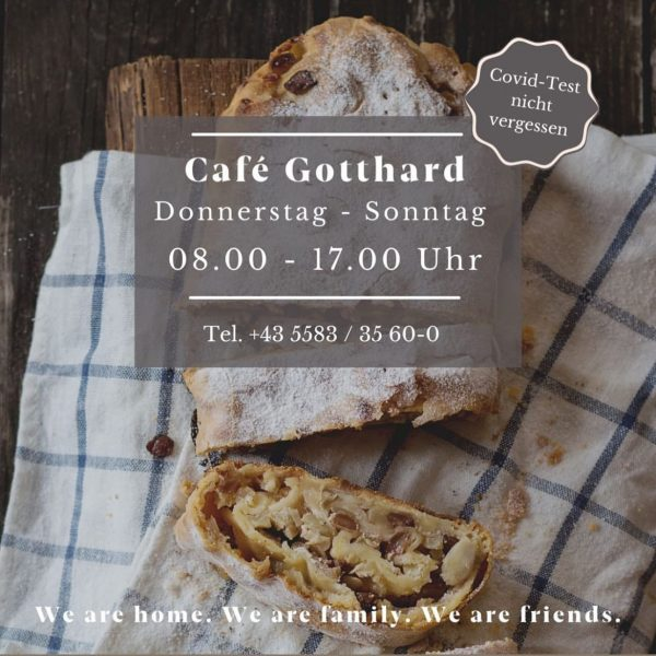 Looking forward to Thursday ! #backtowork #cafegotthard #hotelgotthardlech #unservorarlberg #unserarlberg #unserlech #coffee #strudel ...
