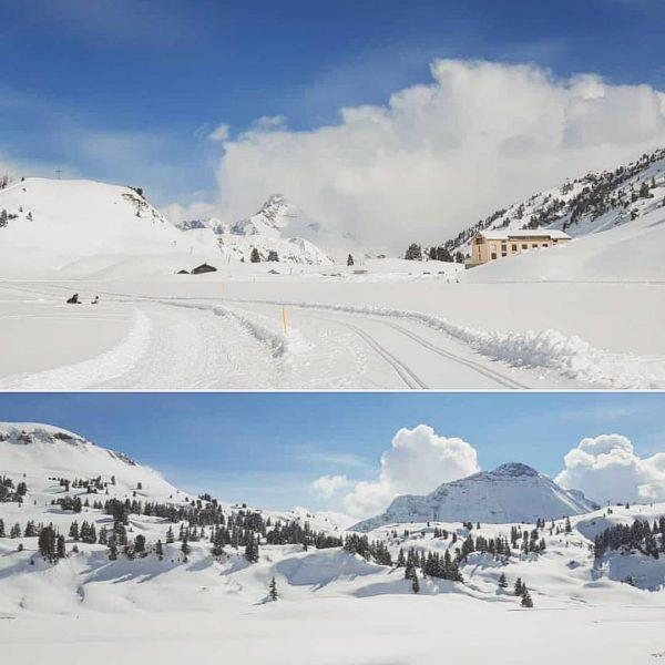 Im Winter wird jedes Lächeln zu hellsten Licht. ☺☀️ . . . #freiheitatmen #winterunderlandamarlberg #winterwanderung #kalbelesee #winterwanderweg...