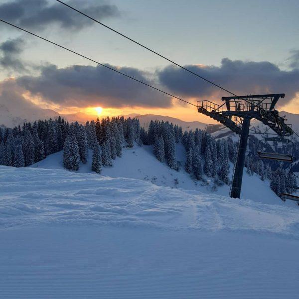 gestern im winter 😍 #bregenzerwald #visitbregenzerwald #bergbahnenmellau Bergbahnen Mellau