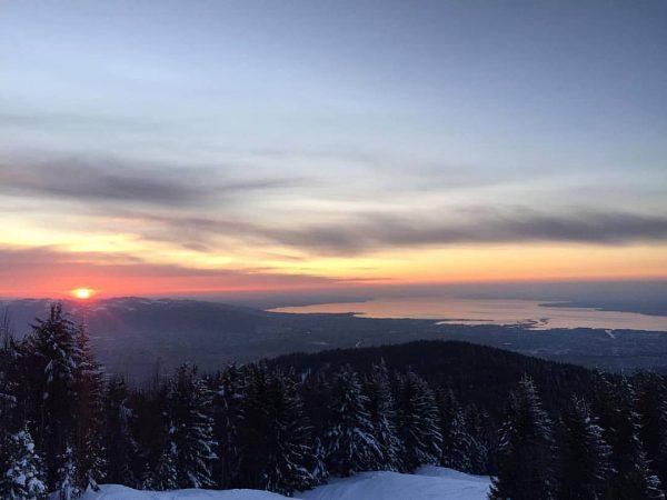 SUNDOWNER VOM FEINSTEN 👌 #bödele #bregenzerwaldgebirge #girlswhohike #mountainslover #hikingadventures #wildernessbabes #alpinist #alpensucht #bestofthealps ...