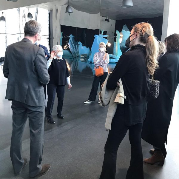 Friends of @mumok_vienna are visiting Kunsthaus Bregenz and »Seasonal Greetings«. Exciting dialogs and inspirational insights inclusive. Thank...