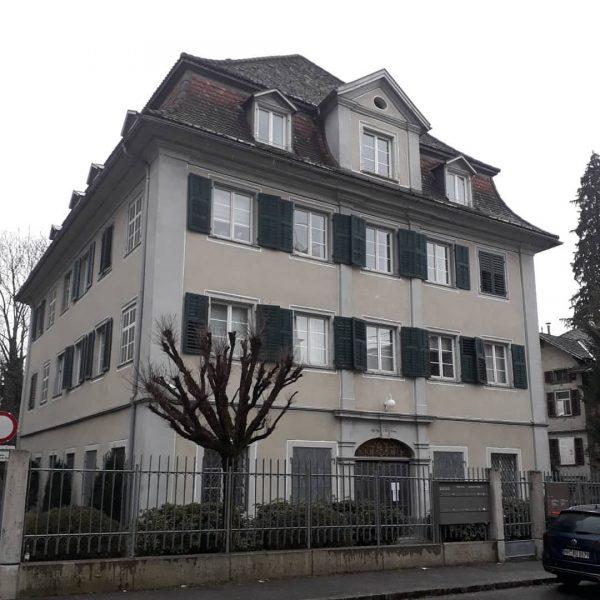 Das Elkan-Haus in Hohenems Auf Nachfrage will ich hier das