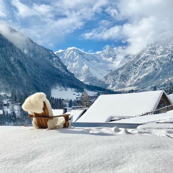 Just take a break and enjoy the view #chalet_gm #brandnertal #visitvorarlberg #austrianalps #austriavacations ...