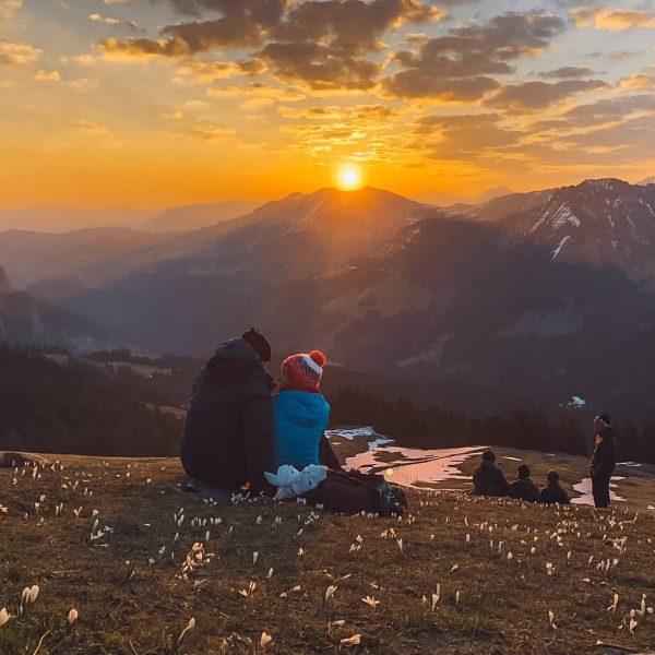 sunrise hike ♡ spring 2020 . . . . . #vorarlberg #meintraumtag #sunrise ...