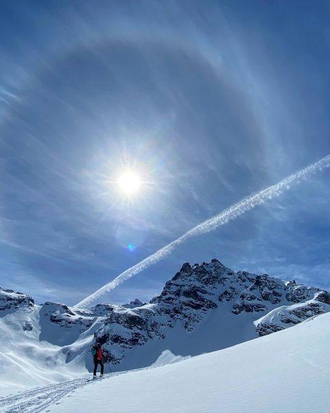 slow down and enjoy the simple pleasures in life 🏔 #skitour #mountains #mountaingirls ...