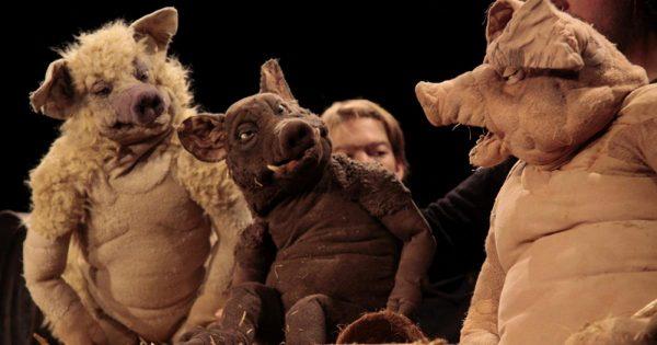 Homunculus Hohenems - Pointen, Puppen & Poesie gibt es noch bis 6. Mai beim bereits 25. Figurentheaterfestival...