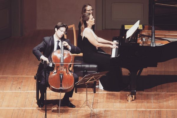 What an honor to be at #schubertiadehohenems with #danielmuellerschott 🙏🏼 #onstage #Brahms #Schumann ...