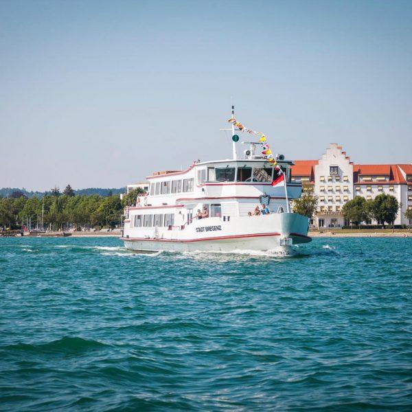 SEEERLEBNIS AM OSTERWOCHENENDE Am Freitag heißt es Leinen Los! Genießt den Bodensee bei ...