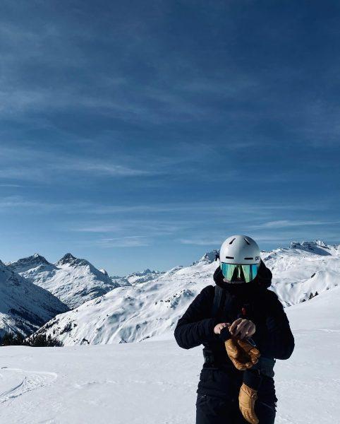 Soul full of sunshine 🌞🏔 #tb #lechzuers #arlberg Arlberg