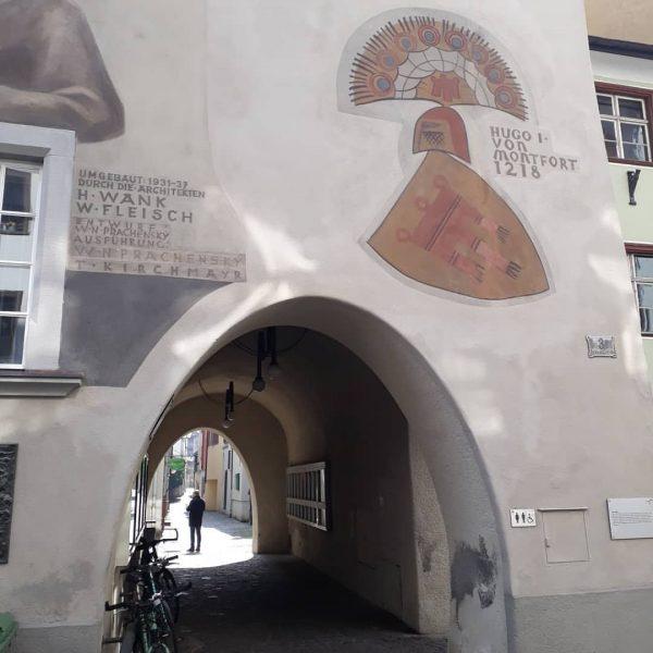 Ein geschichtsträchtiges Rathaus Feldkirch hat, das verbindet die Stadt mit Hohenems, ein geschichtsträchtiges ...