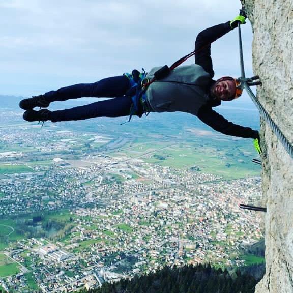 Klettersteig 😁 #vorarlberg #feldkirch #leben #freiheit #insta #spaß #freizeit 👍💪👍 Götzis