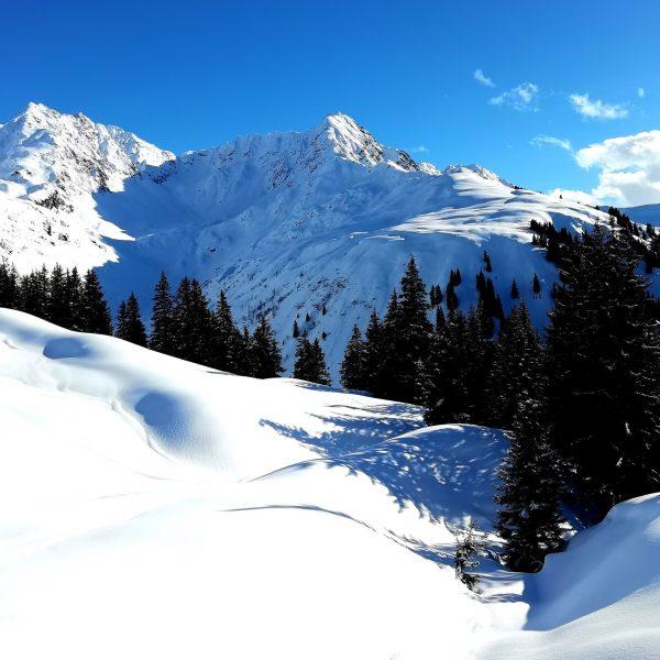 Winter is back, minus 12 this morning. #stanton #skidresa #österrike #alperna #puder #freeride ...