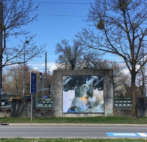New Billboards! #kunsthausbregenz #visitbregenz #pamelarosenkranz #houseofmeme #billboards2021 @pamelaememrosenkranz