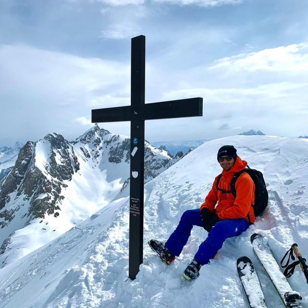 Winter isn't over yet 🤭😎✌️ #mountains #winter #skitouring #zürs #vorarlberg Trittkopf