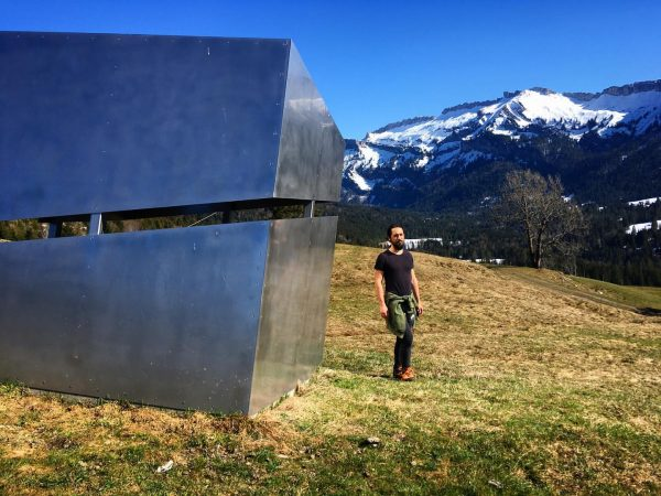 It came from outer space #monolith #steel #modernarchitecture #architecture #architecturephotography #art #mountains #bluesky ...