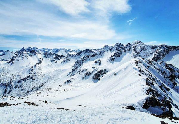 Bei diesem Ausblick wird mir wieder klar, dass die Berge mir den Frieden ...