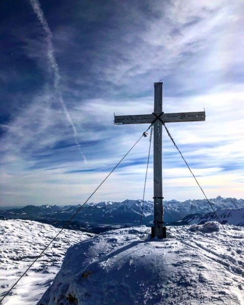 #ifen #kleinwalsertal #mountains #view #skitouring #homesweethome #🏔☀️ Hoher Ifen