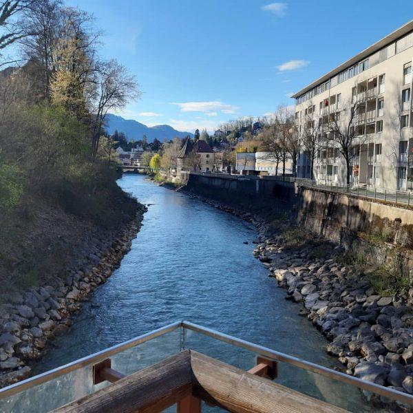 Kleiner Sonntagabendspaziergang #sunday #sundaywalk #sonntag #sonntagsspaziergang #ill #ganahlsteg Feldkirch, Vorarlberg