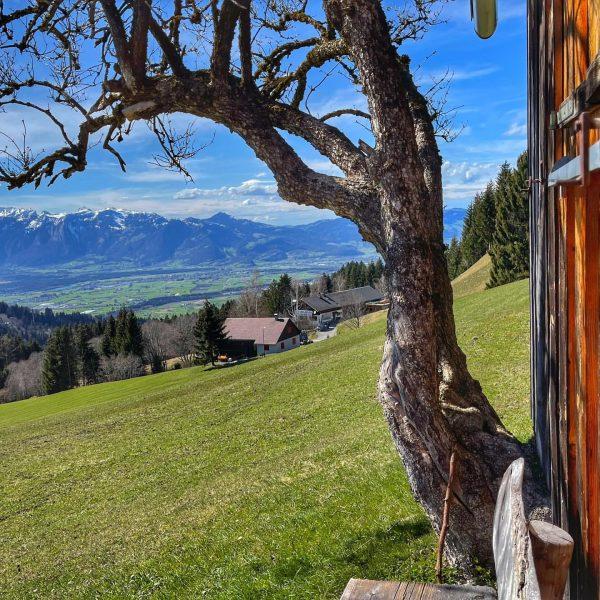 Wandersaison eröffnet. Dafins, Vorarlberg, Austria