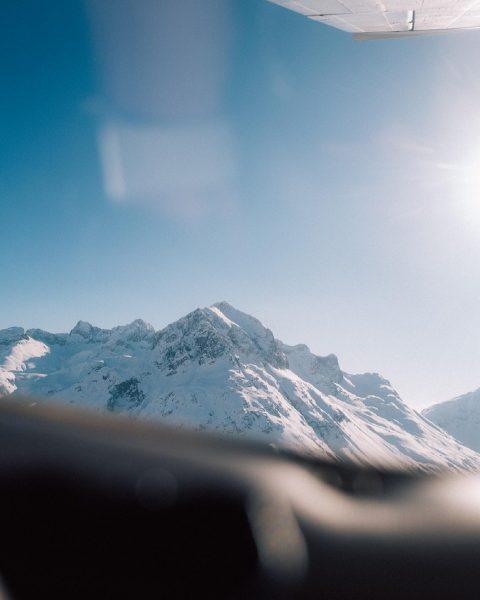 { Das Flugzeug und der Luftraum wurden deine zweite Heimat. Zuerst faszinierten dich die Berge mit ihren...