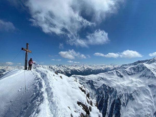 go where you feel most alive ❄️ #skitour #mountains #mountaingirls #myortovoxstroy #skimountaineering #wildchild ...