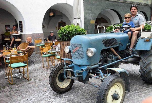 Der Frühling kommt Cafe Hecht Feldkirch