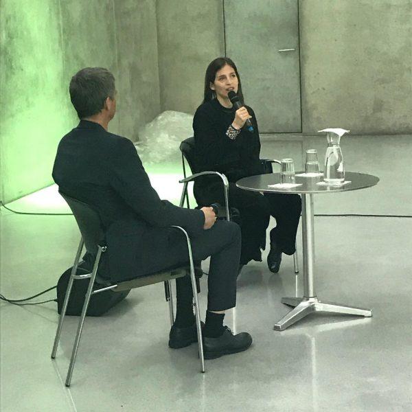 artist talk with @pamelaememrosenkranz #kunsthausbregenz #houseofmeme