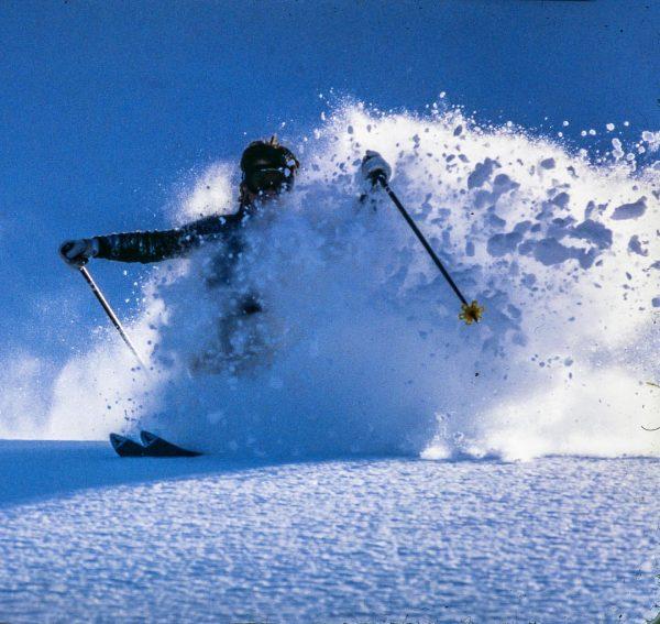 CRYSTAL DEEP POWDER - Enjoyment on wonderful slopes of the world-famous ARLBERG - Skier: Manfred Gschaider on...