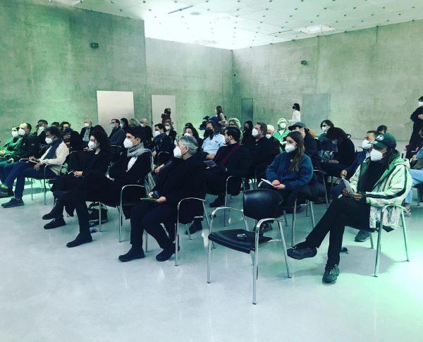 full house @pamelaememrosenkranz #kunsthausbregenz #thomasdtrummer