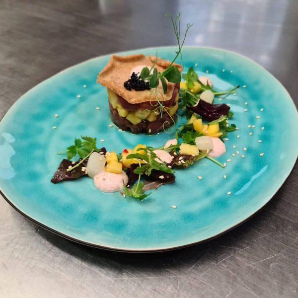 #restaurantbarinnauer #thunfischtatarmangosalat #lecker #specialoftoday