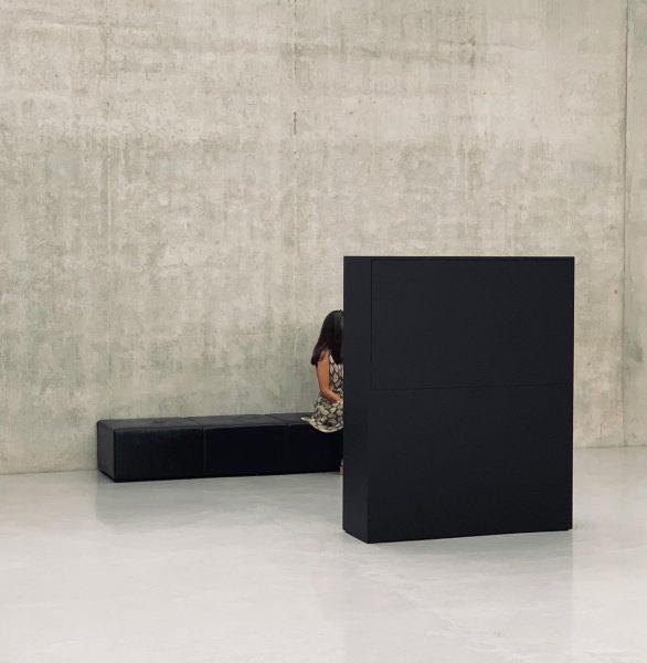 #rabihmroué #kunsthausbregenz #artlovers @kunsthausbregenz #contemporaryart #unprecedentedtimes #unvergesslichezeit #visitbregenz #peterzumthor #chalkoutlines Kunsthaus Bregenz