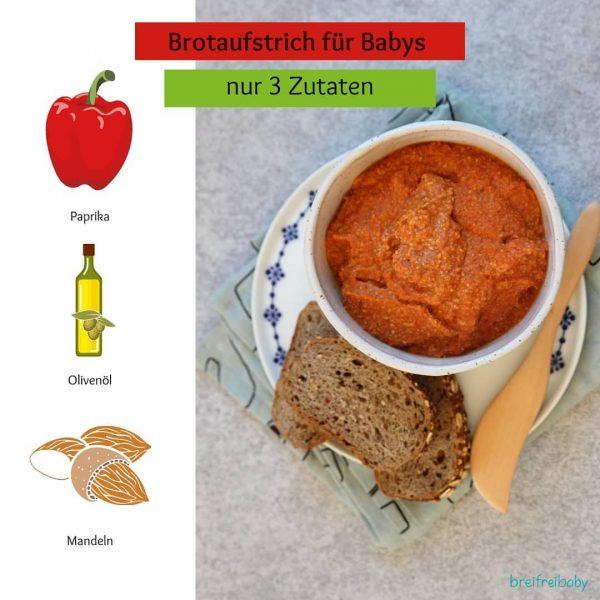 👶🏻🍞Was liebt dein Baby aufs Brot oder Brötchen? 🥕Wir lieben selbstgemachte Brotaufstriche aus Gemüse in Kombination mit...