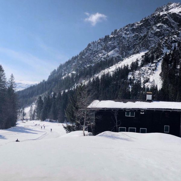 Panorama auf der Steinbock Loipe #mittelberg #kleinwalsertal #xcskiing #allgäu #allgaeuliebe #steinbock Mittelberg Kleinwalsertal