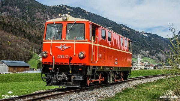 Die 2095.13 der Bregenzerwaldbahn - Museumsbahn am 21.04.2019 #bregenzerwaldbahn #museumsbahn #wälderbähnletrasse #wälderbähnle #bregenzerwald ...