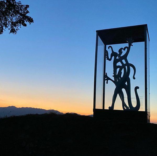 #beauty #mariodalpra #skulptur #altems #schlossberg #hohenems #vorarlberg #venividivorarlberg Altems - Geschichte lebt.