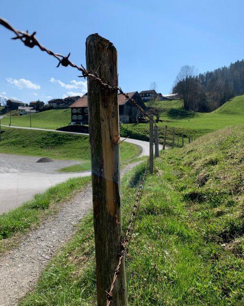 """""""Landwirtschaft in Hittisau"""" Unsere Heumilchbauern haben die letzten Tage fleißig Zäune instandgesetzt, denn der Weidegang der Tiere..."""