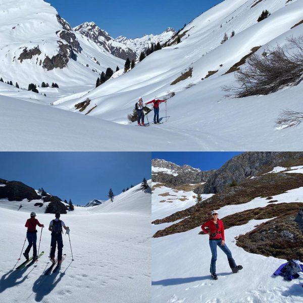 Skitour KARBüHEL 🍀🍾👍🎿🌞🌞🌞Danke für den perfekten Tag 👌🍀😇🎿 👍 #lechzuers #arlberg #roggal #mountains ...