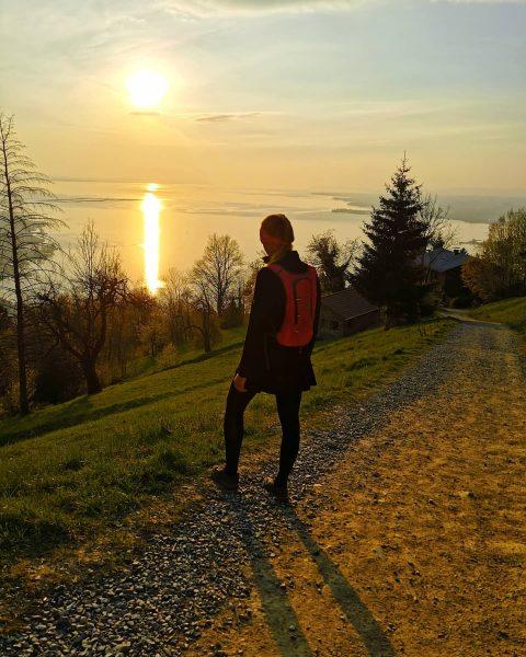 After work hike 😍 . . . . . . . #afternoonhike #walking ...
