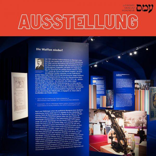 Die Waffen nieder! 1911 wurde der Friedensnobelpreis an zwei Männer vergeben, die beide aus jüdischen Familien stammten:...
