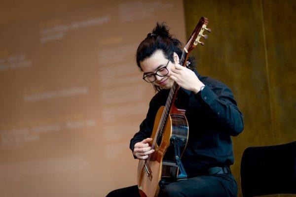 Endlich wieder da: Das Konzert am Mittag, am 4. Mai 2021 im Montforthaus Feldkirch: CIAO! Guo Zhi...