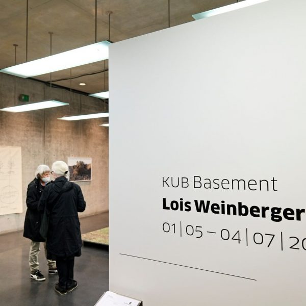 Opening night at Kunsthaus Bregenz with »Lois Weinberger« at KUB Basement and KUB ...