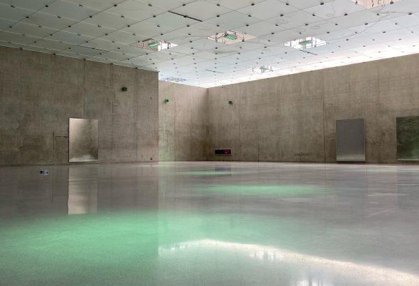 Kunsthaus Bregenz • Peter Zumthor • Exhibiting Pamela Rosenkranz • #kunsthausbregenz #peterzumthor #pamelarozenkranz ...