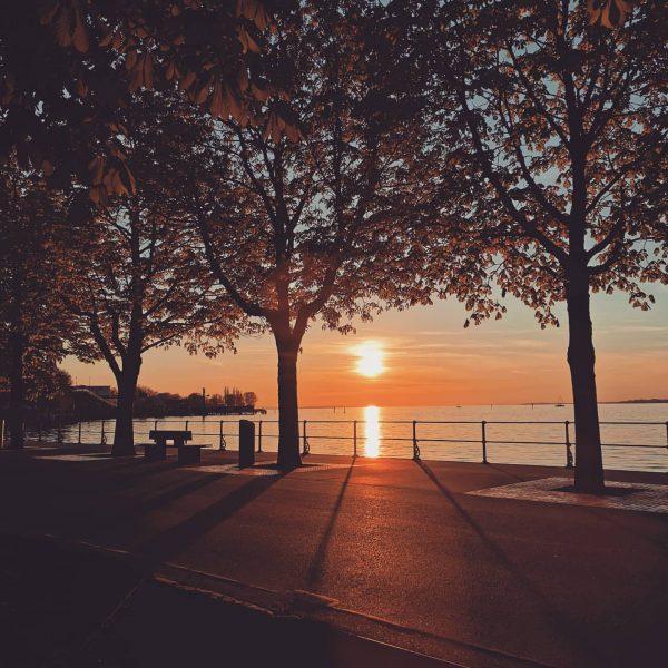 🔹Kopflüfta🔹 Woass ne wies euch god, aba an Spaziergang am See ischs beste ...