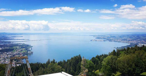 #pfänder #loveit #lake #lakeofconstance #bodensee #bodenseeliebe #bregenz #lindau #blue #mountainlove #wanderlust #gondel #clouds ...