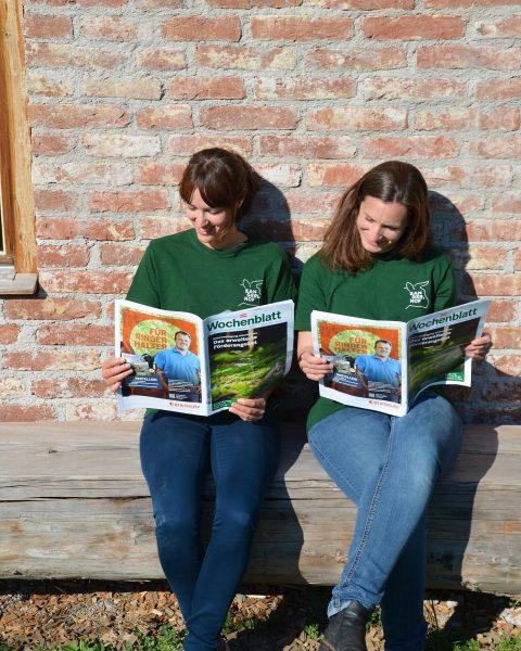 Wollt ihr wissen, was es heute im landwirtschaftlichen Wochenblatt spannendes zu lesen gab? ...
