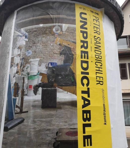 Der Kunstraum Dornbirn präsentiert Peter Sandbichler Im Kunstraum Dornbirn wurde heute Abend (06.05.2021) ...
