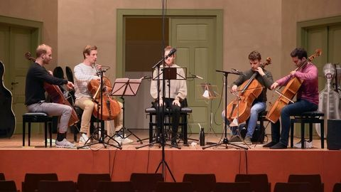 Work in progress! This week another cd recording 🤩 A beautiful program with ...