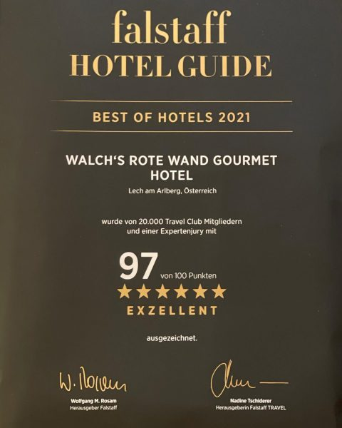 We are very proud, we are thankful 😍💯#rotewandgourmethotel #rotewandchefstable #zugamarlberg #lechzuers Rote Wand Gourmet Hotel