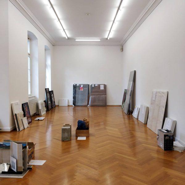 AUFBAU. Die Werke der Mitglieder für die Ausstellung